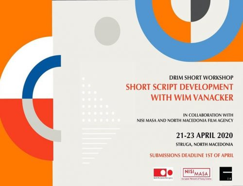 Drim Short Workshop – Short Script Development Workshop will be held April 21-23 in Struga